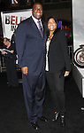 Magic Johnson & Cookie at Alcon Entertainment's L.A. Premiere of The Book of Eli held at The Chinese Theatre in Hollywood, California on January 11,2010                                                                   Copyright 2009 DVS / RockinExposures