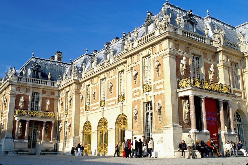 Palace at Versailles, Paris, Versailles, Ile de France, France, Yvelines, Europe, Chateau de Versailles.
