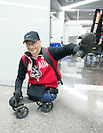Yves Bourque, Sochi 2014.<br /> Team Canada arrives at the airport in Sochi for the Sochi 2014 Paralympic Winter // Équipe Canada arrive à l'aéroport de Sotchi pour Sochi 2014 Jeux paralympiques d'hiver. 03/03/2014.