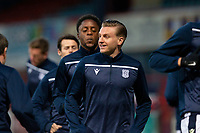 16th March 2021; Dens Park, Dundee, Scotland; Scottish Championship Football, Dundee FC versus Ayr United; Jason Cummings of Dundee during the warm up before the match
