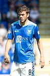 St Johnstone FC Season 2018-19…  McDiarmid Park    <br />Murray Davidson<br />Picture by Graeme Hart. <br />Copyright Perthshire Picture Agency<br />Tel: 01738 623350  Mobile: 07990 594431