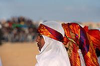 algerische Teilnehmer, Festival in Douz, Tunesien