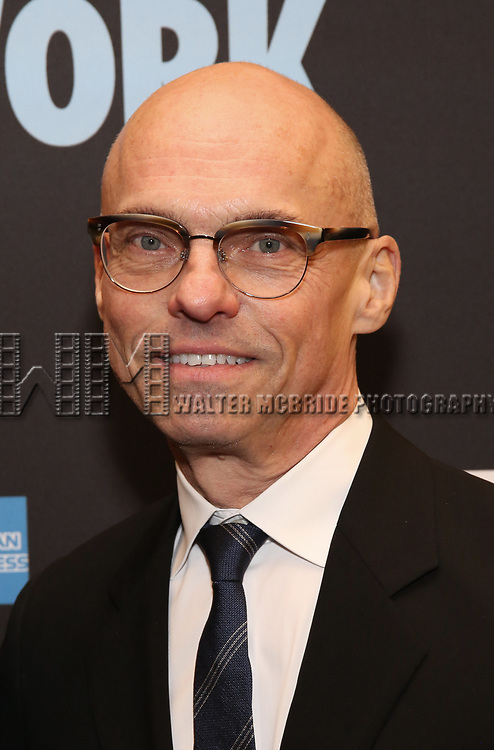 "Jan Versweyveld attends the Broadway Opening Night Performance  for ""Network"" at the Belasco Theatre on December 6, 2018 in New York City."