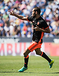 Mario Suarez of Valencia CF celebrates during their La Liga match between Club Deportivo Leganes and Valencia CF at the Butarque Municipal Stadium on 25 September 2016 in Madrid, Spain. Photo by Diego Gonzalez Souto / Power Sport Images