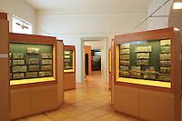 """At the apiculture museum of Radovljica.<br /> The """"Kranjic"""" painted boards./ People started painting the facade of hives in the middle of the 18th century, probably in the monasteries and castles. The religious motifs were predominant until the beginning of the 19th century when secular secular motifs appeared.///The classical period of paintings on the hives' pediments falls between 1820 and 1880. At that time, it spread throughout the alpine region of Slovenia. The painters were professional or self-taught. ///Au musée de l'apiculture de Radovljica.<br /> Les planchettes peintes «Kranjic»./ La façade des ruches a commencé a être peinte au milieu du 18 éme siècle probablement dans les monastères et les châteaux. Les motifs religieux sont prédominants jusqu'au début du 19 éme siècle ou apparaissent des motifs profanes.La période classique de la peintures des frontons de ruches se située entre 1820 et 1880. A cette époque, elle est répandue dans  tout l'espace alpin de Slovénie. Les peintres sont professionnels ou autodidactes."""