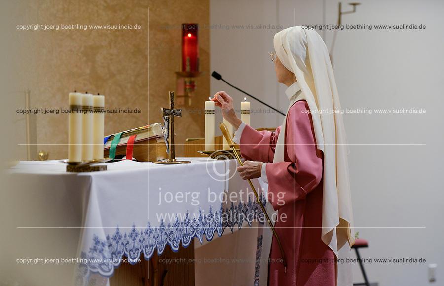 USA, Omaha, Lincoln, pink sisters of SVD steyler missionaries / katholische Kirche, SVD, heilige Messe beim Schwesternorden der Rosa Schwestern, SSpSAP