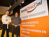 Rotterdam, The Netherlands, February 12, 2016,  ABNAMROWTT, Erik Poel and Guido, tennis direct<br /> Photo: Tennisimages/Henk Koster