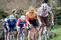 Oliver Naesen (BEL/AG2R Citroën) up the Paterberg<br /> <br /> 64th E3 Classic 2021 (1.UWT)<br /> 1 day race from Harelbeke to Harelbeke (BEL/204km)<br /> <br /> ©kramon