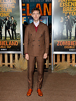 """LOS ANGELES, USA. October 11, 2019: Thomas Middleditch at the premiere of """"Zombieland: Double Tap"""" at the Regency Village Theatre.<br /> Picture: Paul Smith/Featureflash"""