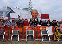 ATLANTA, GA - DECEMBER 7: ESPN College Game Day fans during a game between Georgia Bulldogs and LSU Tigers at Mercedes Benz Stadium on December 7, 2019 in Atlanta, Georgia.