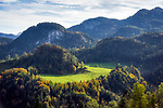 Oesterreich, Salzburger Land, Pinzgau, Unken im Heutal: Almgebiet oberhalb von Unken | Austria, Salzburger Land, Pinzgau, Unken at Heu Valley: alpine pasture above Unken