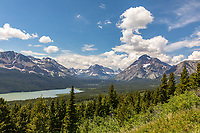 East end of Going to the Sun Road, Glacier National Park, Wyoming