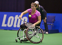December 16, 2014, Rotterdam, Topsport Centrum, Lotto NK Tennis, Marlise Peters (NED)<br /> Photo: Tennisimages/Henk Koster