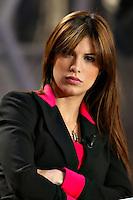"Roma 1 Marzo 2003 ""MCS"". <br /> Elisabetta Canalis, protagonista della fiction ""Carabinieri"". <br /> Foto Andrea Staccioli Insidefoto"