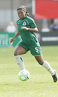 Sheree Gray...Saint Louis Athletica and LA Sol, played to a 0-0 tie at Robert Hermann Stadium in St Louis, MO. April 25 2009.