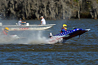 Frame 12: 1-US goes for a wild ride.   (outboard hydroplane)