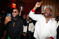 NEW YORK, NY- SEPTEMBER 12: Swizz Beatz and Busta Rhymes pictured at Swizz Beatz Surprise Birthday Party at Little Sister in New York City on September 12, 2021. Credit: Walik Goshorn/MediaPunch