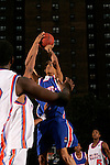 Anthony Randolph (4) takes a shot during the Elite 24 Hoops Classic game on September 1, 2006 held at Rucker Park in New York, New York.  The game brought together the top 24 high school basketball players in the country regardless of class or sneaker affiliation.