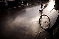 post-race clean<br /> <br /> UCI Cyclocross World Cup Heusden-Zolder 2015