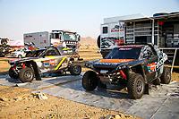 31st December 2020, Jeddah, Saudi Arabian. The vehicle and river shakedown for the 2021 Dakar Rally in Jeddah;   384 Bergounhe Jean-R my fra, Brucy Jean fra, PH PH Sport, Light Weight Vehicles Protoype - T3, ambiance during the shakedown of the Dakar 2021 in Jeddah