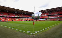 Illustration picture of Business seats pictured at Stade Maurice Dufrasne before a female soccer game between Standard Femina de Liege and KAA Gent Ladies on the second match day of the 2021 - 2022 season of Belgian Scooore Womens Super League , Saturday 28 th of August 2021  in Liege, Belgium . PHOTO SPORTPIX | SEVIL OKTEM