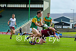 Paudie Clifford, Kerry in action against Bernard Power, Galway during the Allianz Football League Division 1 South Round 1 match between Kerry and Galway at Austin Stack Park in Tralee.
