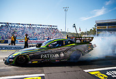 NHRA Mello Yello Drag Racing Series<br /> Dodge NHRA Nationals<br /> Maple Grove Raceway<br /> Reading, PA USA<br /> Saturday 23 September 2017 Alexis DeJoria, Patron, funny car, Toyota, Camry<br /> <br /> World Copyright: Mark Rebilas<br /> Rebilas Photo