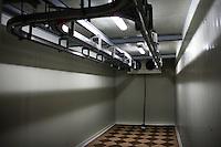 RUMAENIEN, 02.2013, Oltenita. Kuehlkammer in einem Schlachthof fuer Pferde.   Refrigeration chamber for horse meat in a slaughterhouse. © Bogdan Croitoru/EST&OST