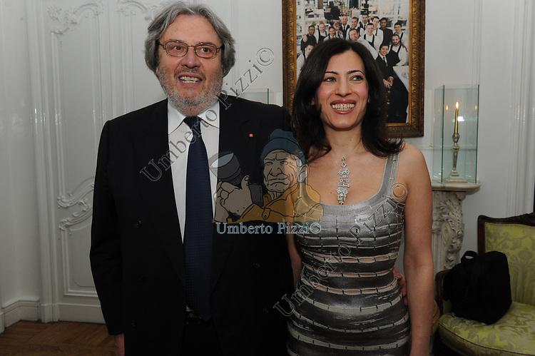 ANTONIO E DANIELA MARASCO<br /> COMPLEANNO SALVATORE D'AGOSTINO<br /> HOTEL MAJESTIC ROMA 2011