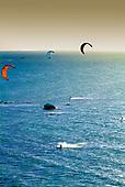 Nouméa - Flysurf au couchant