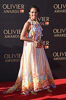 Lily Frazer<br /> arriving for the Olivier Awards 2017 at the Royal Albert Hall, Kensington, London.<br /> <br /> <br /> ©Ash Knotek  D3245  09/04/2017