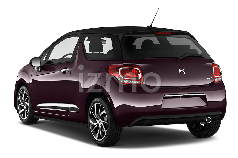 Car pictures of rear three quarter view of 2016 Ds DS3 So-Chic 3 Door hatchback Angular Rear