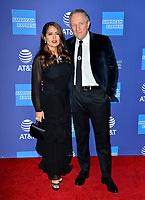PALM SPRINGS03, 2020: Salma Hayek & Francois-Henri Pinault at the 2020 Palm Springs International Film Festival Film Awards Gala.<br /> Picture: Paul Smith/Featureflash