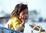 Cambodian Girl 01 - Young Cambodian girl, Kampot, Cambodia.
