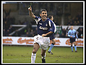 25/1/03       Copyright Pic : James Stewart                  .File Name : stewart-falkirk v hearts 04.OWEN COYLE CELEBRATES AFTER HE SCORES FALKIRK'S SECOND GOAL.......James Stewart Photo Agency, 19 Carronlea Drive, Falkirk. FK2 8DN      Vat Reg No. 607 6932 25.Office : +44 (0)1324 570906     .Mobile : + 44 (0)7721 416997.Fax     :  +44 (0)1324 570906.E-mail : jim@jspa.co.uk.If you require further information then contact Jim Stewart on any of the numbers above.........