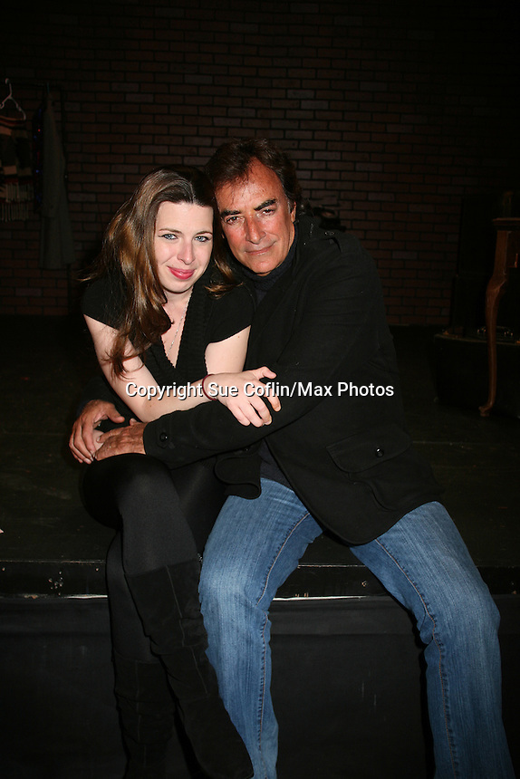 """Days of Our Lives and Mission Impossible star Thaao Penghlis """"Tony DiMera"""" and General Hospital's """"Victor Cassadine"""" is starring in Class with Heather Matarazzo at the Cape May Stage in Cape May, New Jersey. The play runs til June 12, 2010. (Photo by Sue Coflin/Max Photos)"""