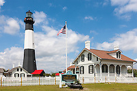 The Tybee Island Light Station on Tybee Island near Savannah, Georgia.