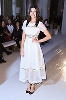Natalie Anderson<br /> at the Jasper Conran AW17 show as part of London Fashion Week AW17 at Claridges,, London.<br /> <br /> <br /> ©Ash Knotek  D3230  17/02/2017