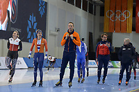 SPEEDSKATING: 12-02-2020, Utah Olympic Oval, ISU World Single Distances Speed Skating Championship, Letitia de Jong (NED), Erwin ten Hove (coach Team IKO), ©Martin de Jong