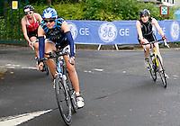 Photo: Richard Lane/Richard Lane Photography. GE Strathclyde Park Triathlon. 02/09/2012. Age Group cycle.