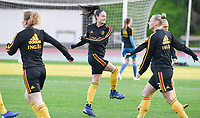 20190304 - LARNACA , CYPRUS :  Belgian Tessa Wullaert pictured during a women's soccer game between Nigeria and the Belgian Red Flames , on Monday 4 th March 2019 at the GSZ Stadium in Larnaca , Cyprus . This is the third and last game in group C for both teams during the Cyprus Womens Cup 2019 , a prestigious women soccer tournament as a preparation on the Uefa Women's Euro 2021 qualification duels. PHOTO SPORTPIX.BE | DAVID CATRY