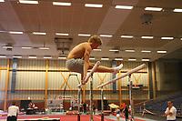 TURNEN: HEERENVEEN: 23-06-2006, SportStad, Epke Zonderland, trainer Gerard Speerstra, ©foto Martin de Jong