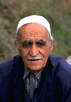 Portrait of local man in Albania near Tirana