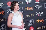 Aida Folch attends red carpet of Goya Cinema Awards 2018 at Madrid Marriott Auditorium in Madrid , Spain. February 03, 2018. (ALTERPHOTOS/Borja B.Hojas)
