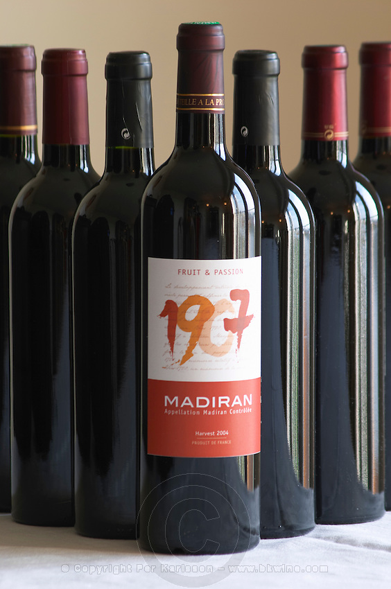 Bottle of 1907 Fruit and Passion Madiran France