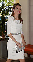 KEY BISCAYNE, FL - NOVEMBER 18: (EXCLUSIVE COVERAGE) Prince Felipe of Spain and Princess Letizia of Spain meet Miami Mayor Tomas Regalado for lunch at the Rusty Pelican Restaurant on November 18, 2013 in Key Biscayne, Florida<br /> <br /> <br /> People:  Princess Letizia of Spain