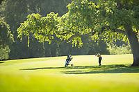 STANFORD, CA - APRIL 23: Kristine Tran at Stanford Golf Course on April 23, 2021 in Stanford, California.