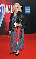 """Sandra Dickinson at the 65th BFI London Film Festival """"Belfast"""" American Airlines gala, Royal Festival Hall, Belvedere Road, on Tuesday 12th October 2021, in London, England, UK.  <br /> CAP/CAN<br /> ©CAN/Capital Pictures"""
