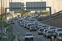 - Milan, Maggi square highway overpass....- Milano, cavalcavia autostradale di piazza Maggi