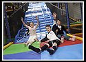 03/05/2009  Copyright  Pic : James Stewart.05_the_buzz.**** FREE FIRST USE WHEN USED IN RELATION TO  OPENING OF THE BUZZ ****.THE UK'S LARGEST SOFT PLAY AND LASER QUEST ARENA OPENS IN FALKIRK...... .ADAM HEEPS (9) CELEBRATES WINNING THE CHUTE RACE BY BEATING ANGUS MORRISON (6), ROBIN EARLEY (12) AND LINDSAY GAIRNS (12) TO THE BOTTOM.....For more information contact Jonathan Kennedy or Alison Jack at Wave PR on 0141 303 8390 / 07803 137262..James Stewart Photography 19 Carronlea Drive, Falkirk. FK2 8DN      Vat Reg No. 607 6932 25.Telephone      : +44 (0)1324 570291 .Mobile              : +44 (0)7721 416997.E-mail  :  jim@jspa.co.uk.If you require further information then contact Jim Stewart on any of the numbers above.........
